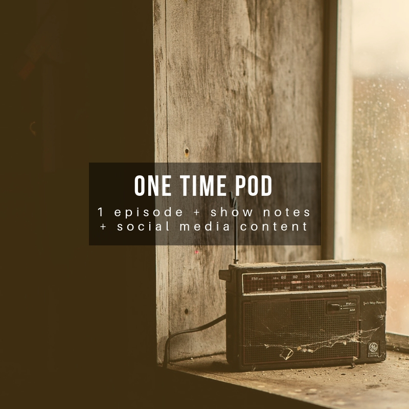 One Time Pod
